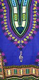 Dashiki($45.00) Blue/Gold Treble Clef 3XL
