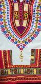 Dashiki($35.00) White/Pink/Gold Treble Clef XXL